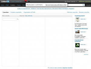 Exportar contatos Linkedin 1