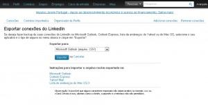 Exportar contatos Linkedin2