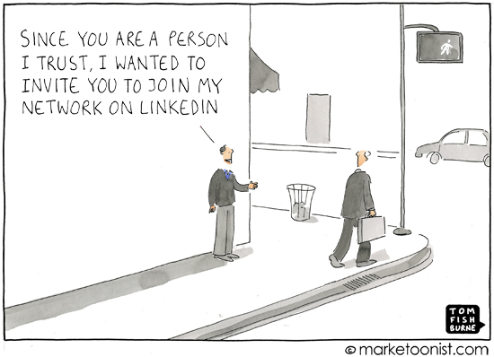 how to ask review linkedin