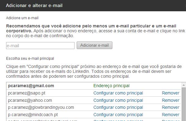 erros linkedin email