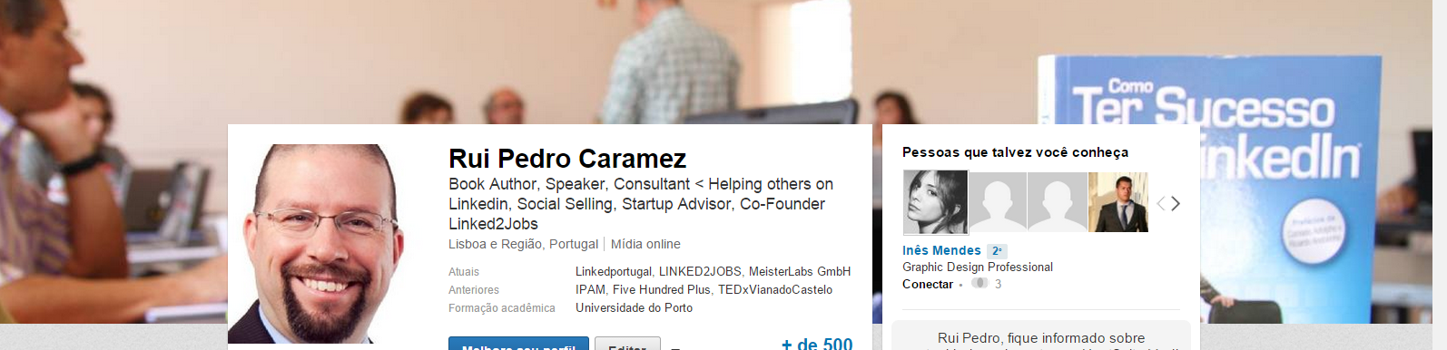 cover page Linkedin