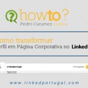 Transformar Perfil em Página Empresa no Linkedin
