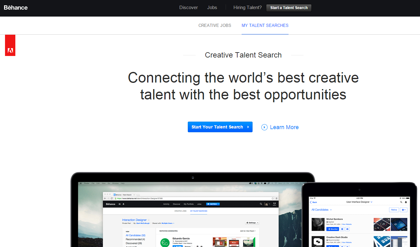 Behance Talent Search