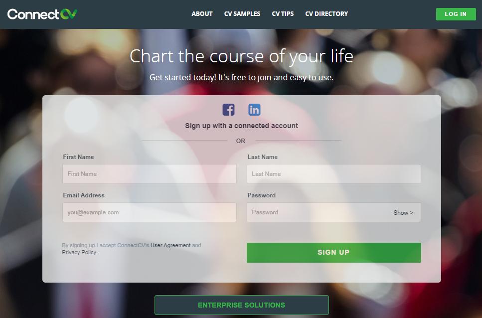 crie um cv apelativo a partir de um perfil linkedin