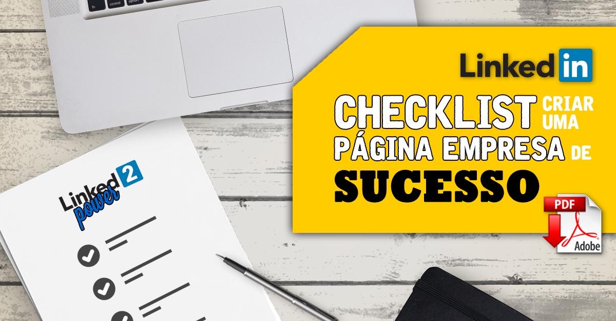 Checklist. Linkedin Empresas