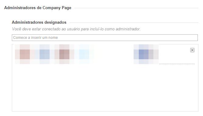 Perfil Empresa Admin